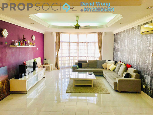 Condominium For Sale in Flora Green, Bandar Sungai Long Freehold Fully Furnished 3R/3B 850k