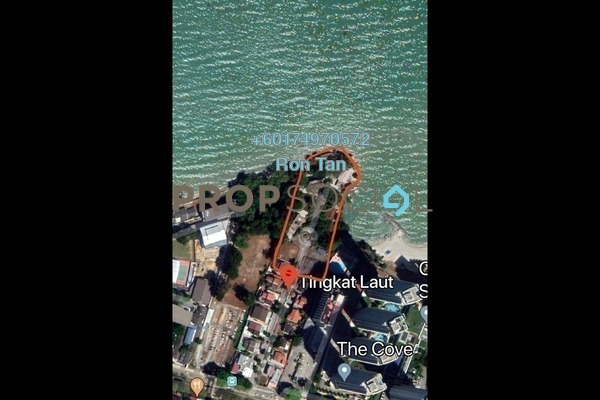 Land For Sale in Tingkat Laut, Tanjung Bungah Freehold Unfurnished 0R/0B 85m