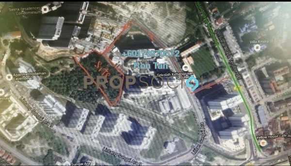 Land For Sale in Lintang Sungai Ara, Sungai Ara Freehold Unfurnished 0R/0B 32.4m