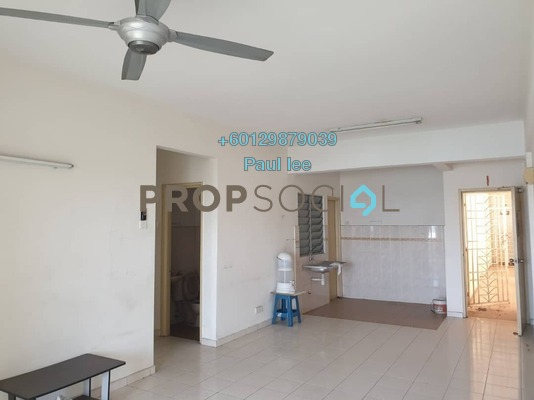 Condominium For Sale in Nilam Puri, Bandar Bukit Puchong Freehold Semi Furnished 3R/2B 290k