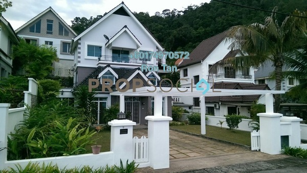 Bungalow For Sale in Ferringhi Villas, Batu Ferringhi Freehold Fully Furnished 3R/3B 1.8m