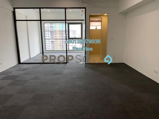 Office For Sale in Sunway GEO Retail, Bandar Sunway Freehold Semi Furnished 1R/1B 520k