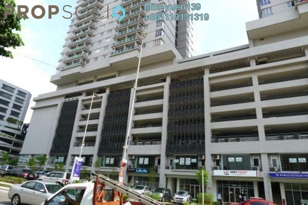 Condominium For Sale in Maxim Residences, Cheras Freehold Unfurnished 2R/2B 340k