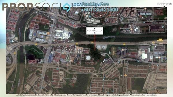 Condominium For Sale in Kuchai Sentral, Kuchai Lama Freehold Semi Furnished 1R/1B 370k