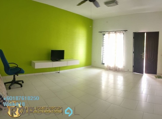 Terrace For Sale in Luciana, Setia Eco Gardens Freehold Semi Furnished 3R/2B 520k