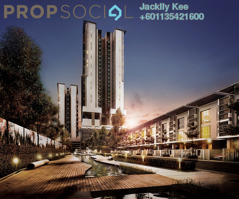 Condominium For Sale in The Andes, Bukit Jalil Freehold Unfurnished 3R/2B 608k