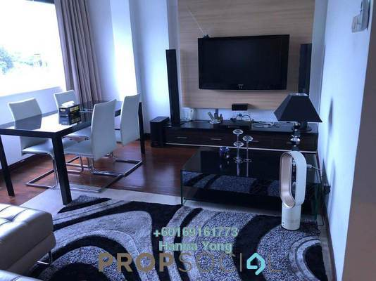 Serviced Residence For Sale in 10 Semantan, Damansara Heights Leasehold Fully Furnished 2R/2B 638k