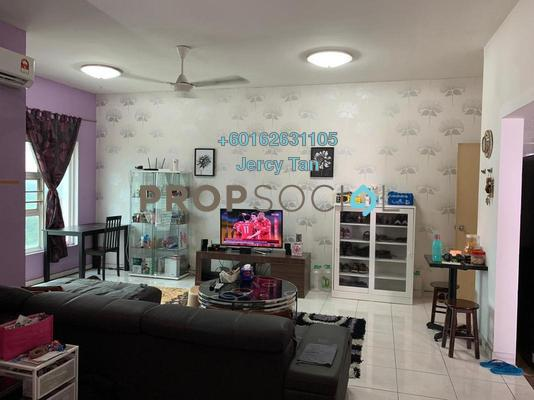 Apartment For Sale in Desa Impiana, Puchong Freehold Semi Furnished 3R/2B 368k