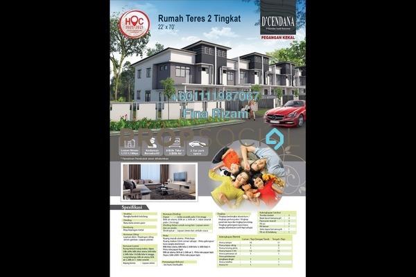 Terrace For Sale in Bandar Tasik Kesuma, Semenyih Freehold Unfurnished 4R/3B 585k