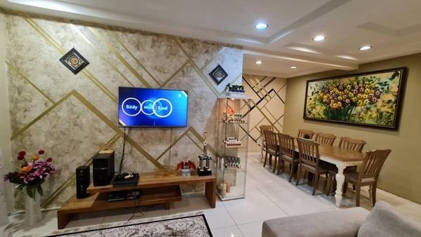Terrace For Sale in Taman Ukay Bistari, Ukay Freehold Semi Furnished 5R/4B 1.45m