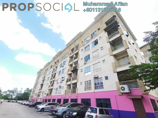 Apartment For Sale in Seksyen 7, Bandar Baru Bangi Freehold Fully Furnished 3R/2B 280k