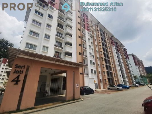 Apartment For Sale in Seri Jati Apartment, Setia Alam Freehold Semi Furnished 3R/2B 290k