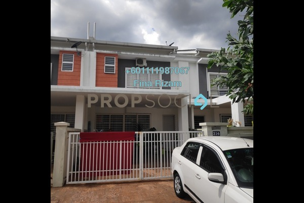 Terrace For Sale in S2 Heights, Seremban 2 Freehold Semi Furnished 4R/4B 530k
