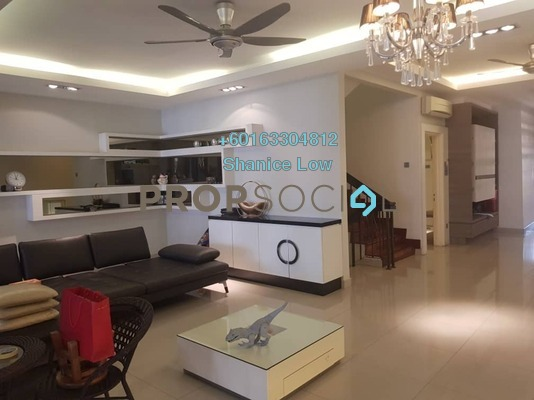 Terrace For Sale in Vistaria Residences, Bandar Puchong Jaya Freehold Semi Furnished 5R/4B 2.2m