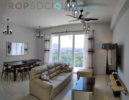 Condominium For Rent in Verdi Eco-dominiums, Cyberjaya Freehold Fully Furnished 3R/3B 2.85k