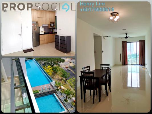 Serviced Residence For Sale in Danau Kota Suite Apartments, Setapak Freehold Semi Furnished 3R/2B 590k