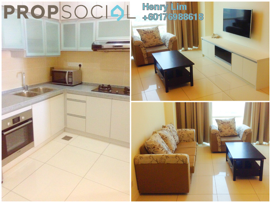 Condominium For Rent in Suasana Bangsar, Bangsar Freehold Fully Furnished 2R/2B 3.2k