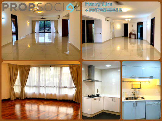 Condominium For Rent in Sri Penaga, Bangsar Freehold Semi Furnished 3R/3B 6.8k