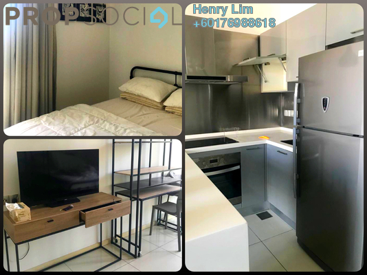 SoHo/Studio For Rent in M Suites, Ampang Hilir Freehold Fully Furnished 0R/1B 1.5k