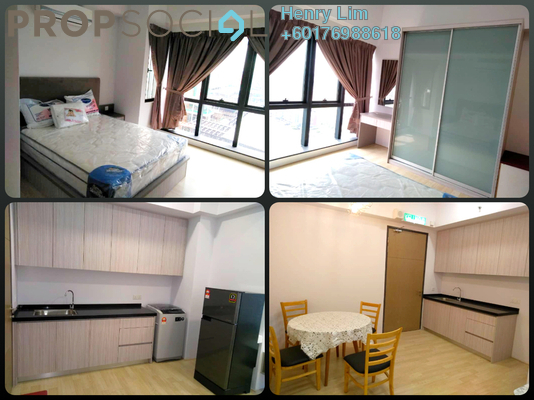 SoHo/Studio For Rent in REV.O @ Bukit Jalil City, Bukit Jalil Freehold Fully Furnished 0R/1B 1.25k