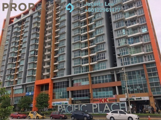Serviced Residence For Sale in Jazz Residences @ Pacific Place, Ara Damansara Freehold Semi Furnished 3R/2B 362k