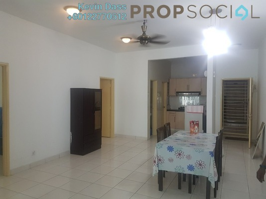 Condominium For Rent in Casa Tiara, Subang Jaya Freehold Fully Furnished 3R/2B 1.9k