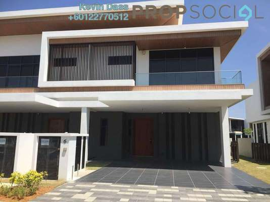 Semi-Detached For Sale in Monterey @ Eco Sanctuary, Telok Panglima Garang Freehold Unfurnished 5R/5B 1.6m
