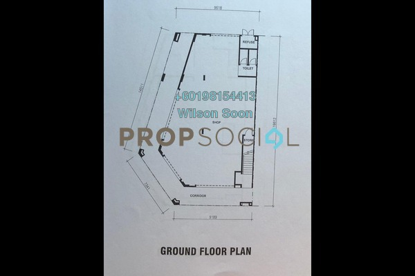 Shop For Rent in Sinaria, Tropicana Aman Freehold Unfurnished 0R/0B 11k