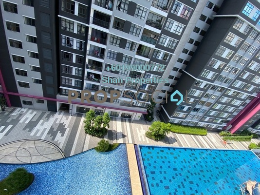 Condominium For Sale in Casa Green, Bukit Jalil Freehold Semi Furnished 3R/3B 530k
