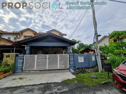 Terrace For Sale in Seksyen 2, Bandar Bukit Mahkota Freehold Fully Furnished 3R/3B 670k