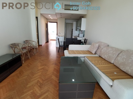 Condominium For Rent in Straits Quay, Seri Tanjung Pinang Freehold Fully Furnished 1R/2B 3.5k