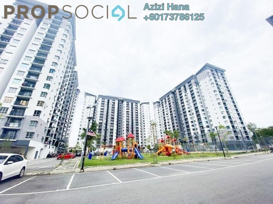 Apartment For Sale in Residensi Laguna Biru 2, Rawang Freehold Semi Furnished 3R/2B 270k