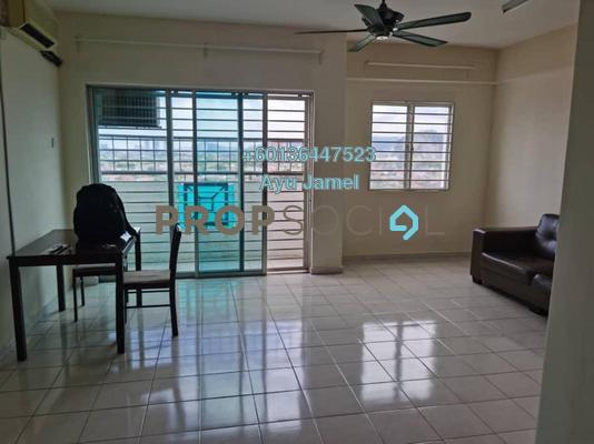 Apartment For Rent in Sri Harmonis Apartment, Gombak Freehold Unfurnished 4R/2B 1.3k