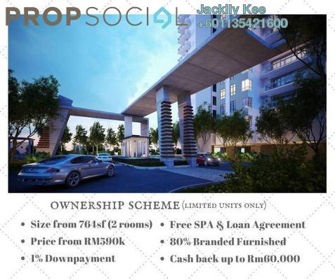 Condominium For Sale in Tria Residences @ 9 Seputeh, Old Klang Road Freehold Fully Furnished 4R/3B 1.44m
