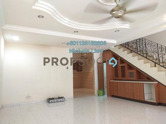 Terrace For Sale in Section 3, Bandar Mahkota Cheras Freehold Semi Furnished 4R/3B 580k