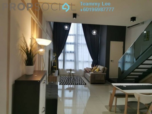 Serviced Residence For Rent in EkoCheras, Cheras Freehold Fully Furnished 1R/2B 2.3k