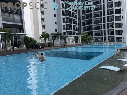 Condominium For Sale in Rhythm Avenue, UEP Subang Jaya Freehold Fully Furnished 3R/2B 638k