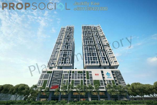 Serviced Residence For Sale in Platinum Arena, Old Klang Road Freehold Semi Furnished 2R/2B 359k
