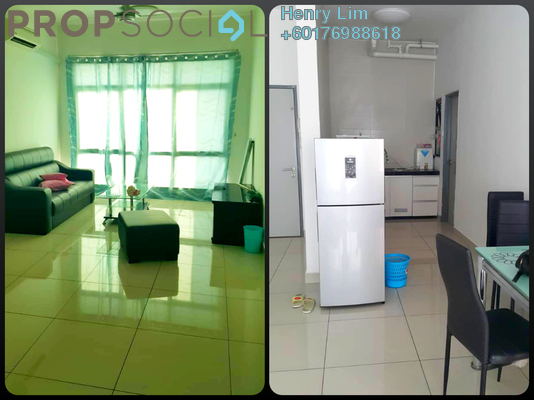 Condominium For Sale in Amaya Maluri, Cheras Freehold Fully Furnished 2R/2B 580k