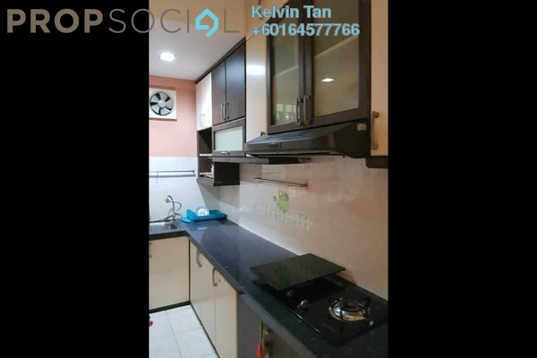 Condominium For Sale in Krystal Suria, Bukit Jambul Freehold Fully Furnished 4R/3B 530k