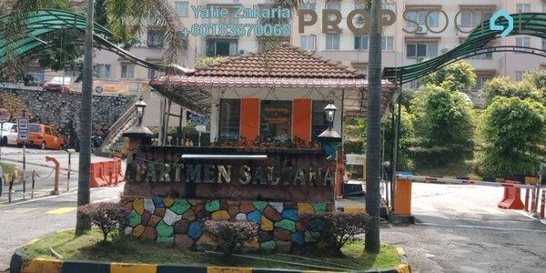 Apartment For Rent in Saujana Apartment, Damansara Damai Freehold Unfurnished 3R/2B 850translationmissing:en.pricing.unit