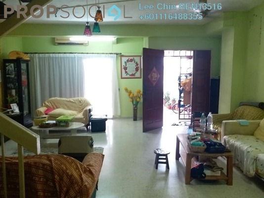 Terrace For Sale in Taman Suria Jaya, Cheras South Freehold Semi Furnished 4R/3B 520k