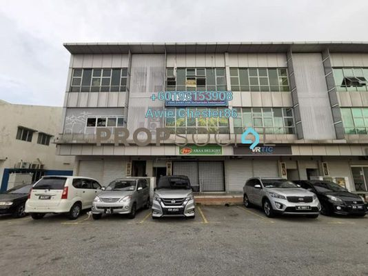 Shop For Rent in Section 26, Shah Alam Freehold Unfurnished 3R/2B 1k