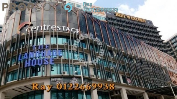 Serviced Residence For Sale in Centrestage, Petaling Jaya Freehold Semi Furnished 2R/2B 460k