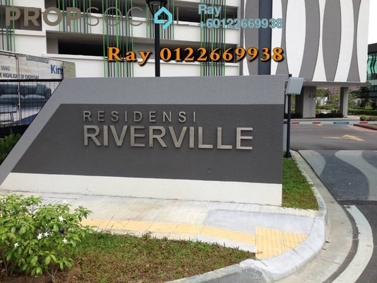 Serviced Residence For Sale in Riverville Residences, Old Klang Road Freehold Semi Furnished 3R/2B 680k