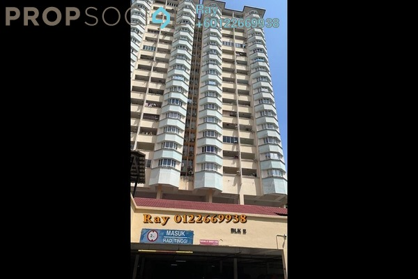 Apartment For Sale in Seri Puri, Kepong Freehold Semi Furnished 3R/2B 368k