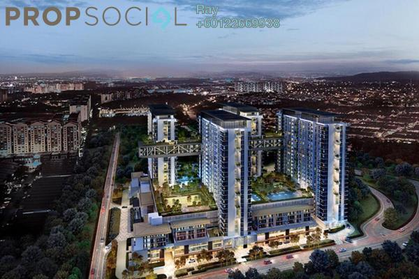 Serviced Residence For Sale in Cantara Residences, Ara Damansara Freehold Semi Furnished 3R/2B 1.1m