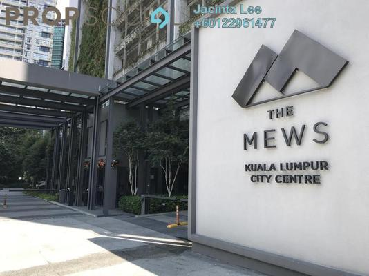 Serviced Residence For Sale in The Mews, KLCC Freehold Semi Furnished 2R/2B 1.33m