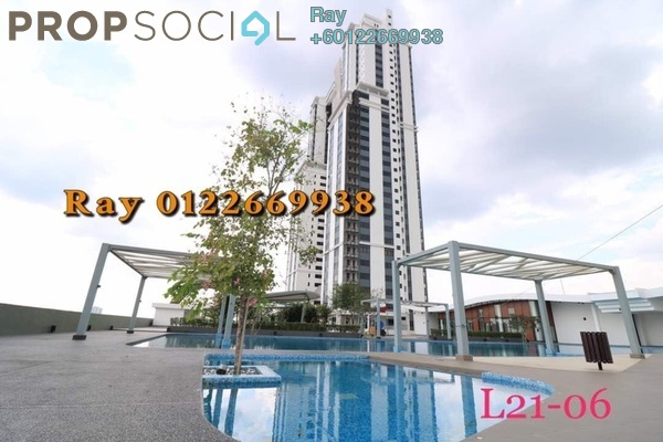 Condominium For Sale in Encorp Strand Residences, Kota Damansara Freehold Semi Furnished 3R/2B 850k