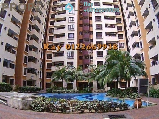 Condominium For Sale in Palm Spring, Kota Damansara Freehold Semi Furnished 3R/2B 345k